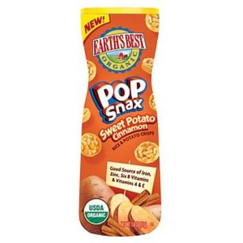 Earth's Best Organic® Sweet Potato and Cinnamon Pop Snax