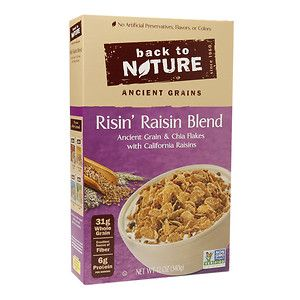 Back To Nature Risin' Raisin Blend Cereal 12 oz