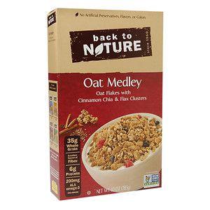 Back To Nature Granola Cereal Oat Medley 10 oz
