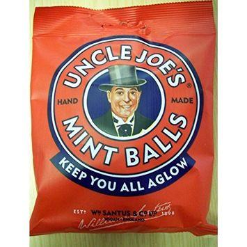 Uncle Joe's Mint Balls 98g Bags Pack of Three