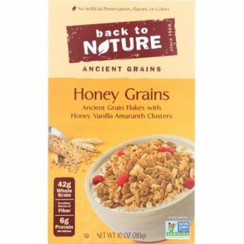 Back To Nature Cereal Honey Grains, 10 Oz (Pack Of 6)