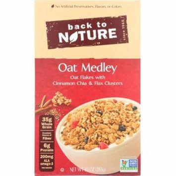 Back To Nature Oat Medley Cinnamon Cluster Cereal, 10 Oz (Pack Of 6)
