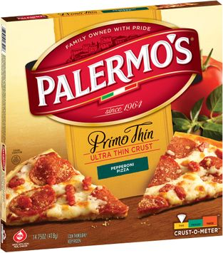 Primero's® Primo Thin Ultra Thin Crust Pepperoni Pizza,