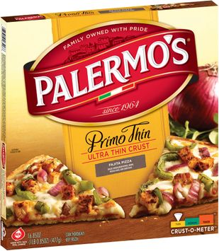 Palermo's® Primo Thin Ultra Thin Crust Fajita Pizza,