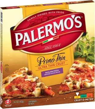 Palermo's Primo Thin Ultra Thin Crust Sicilian Pizza,