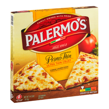 Palermo's Primo Thin Ultra Thin Crust Cheese Lovers Pizza