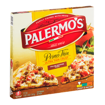 Palermo's Primo Thin Ultra Thin Crust Italian Sausage Pizza