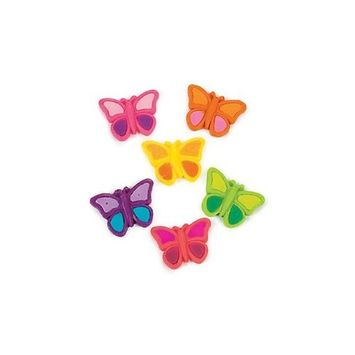 Butterfly Gummy Candy - 38 Individually Wrapped Pieces - Assorted Fruit Flavors