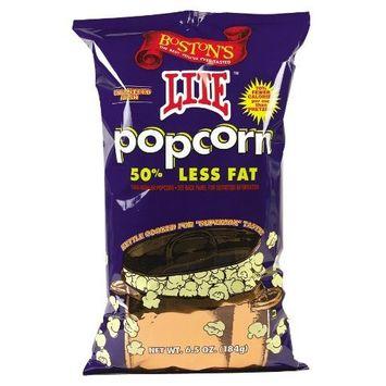 Boston Popcorn Lite Popcorn 6.5 oz. (Pack of 12) ( Value Bulk Multi-pack)