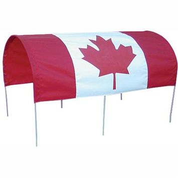Millside Industries CDN-F 20 in. x 38 in. Canadian Flag Canopy for Wagons
