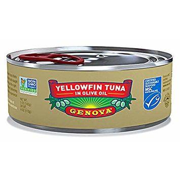Genova, Wild Caught Yellowfin Tuna in Olive Oil, 5 oz