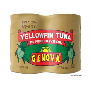 Genova Yellowfin Tuna in Olive Oil, 8 pk./5 oz.