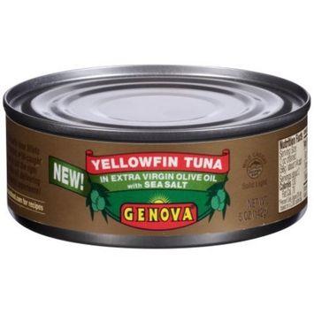 Genova Yellowfin Tuna in Extra Virgin Olive Oil with Sea Salt 5 oz Can