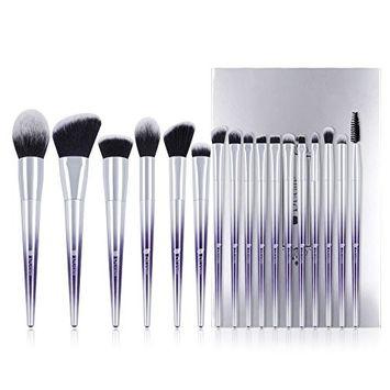 DUcare Pro Foundation Eyeshadow Lip Makeup Brush Set - 17 Pcs