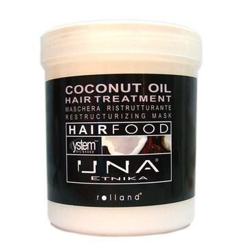 Rolland UNA Hair Food Treatment 34-ounce Coconut Oil