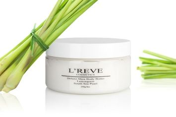 L'reve Luxury Skincare Pearl Infused Body Butter - Lemongrass