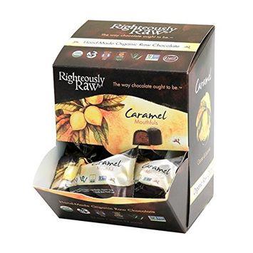 Righteously Raw Caramel Mouthfuls (12 Units)