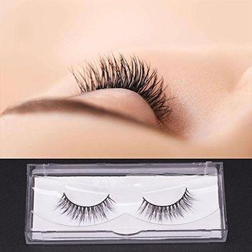 Premium 3D Mink Eyelashes Extension 100% Authentic Mink Fur False Lashes 1 Pair E17