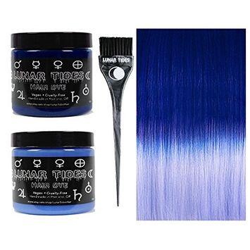 Lunar Tides Hair Dye - Blue DIY Ombre Hair Dye Kit