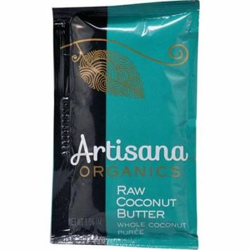Artisana Organic Raw Coconut Butter Squeeze Pack -- 1.06 oz pack of 6