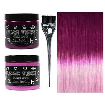 Lunar Tides Hair Dye - Pink DIY Ombre Hair Dye Kit