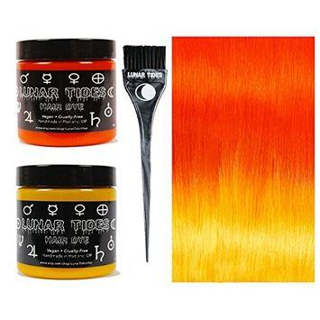 Lunar Tides Hair Dye - Orange DIY Ombre Hair Dye Kit