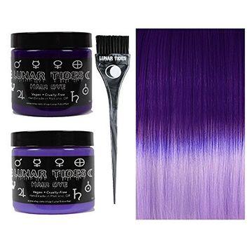 Lunar Tides Hair Dye - Violet Purple DIY Ombre Hair Dye Kit