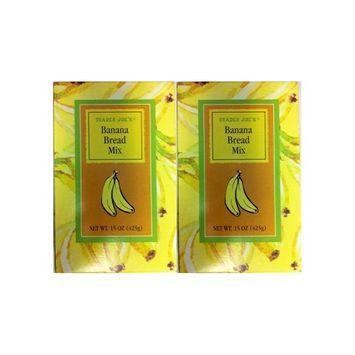Trader Joe's Banana Bread Mix 15 oz (Pack of 2)