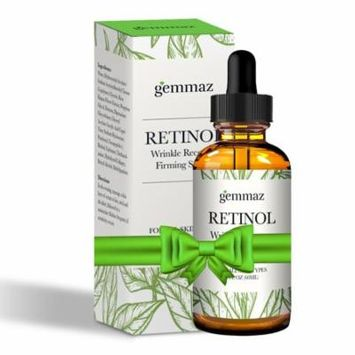 Gemmaz Retinol Serum To Remove Fine Lines and Wrinkles for Face, Neck and Eye Area by Vena Beauty
