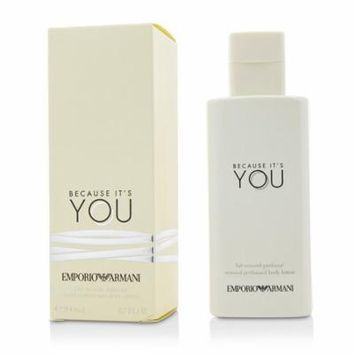 Emporio Armani Because It's You Sensual Perfumed Body Lotion-200ml/6.7oz
