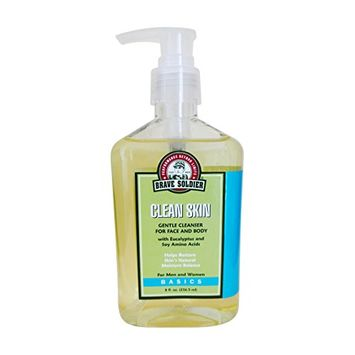 Brave Soldier Clean Skin Face Cleanser (8-Ounce)