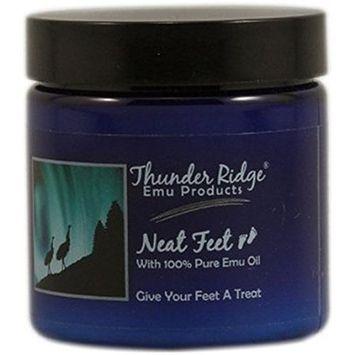 Thunder Ridge Emu Products Neat Feet Moisturizing Cream with Emu Oil 4 oz.