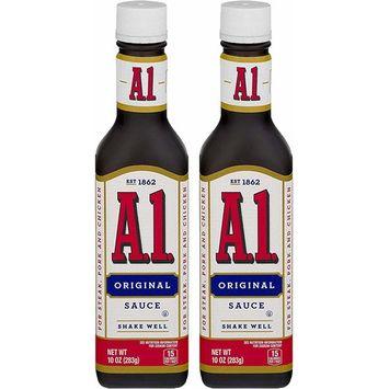 A-1 Steak Sauce, Original, 10 Oz (2 Pack)