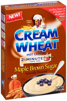Cream of Wheat™ Hot Cereal Maple Brown Sugar