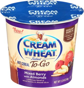 Cream of Wheat® Instant To-Go Mixed Berry with Almonds Hot Cereal