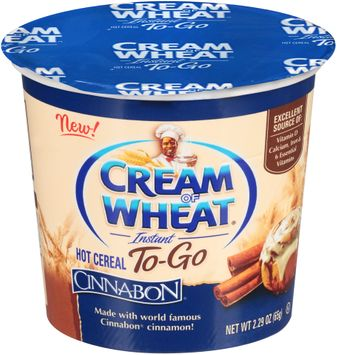 Cream of Wheat® Instant To-Go Cinnabon Hot Cereal