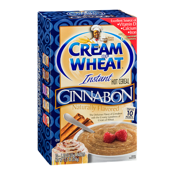 Cream of Wheat Instant Hot Cereal Cinnabon - 10 CT
