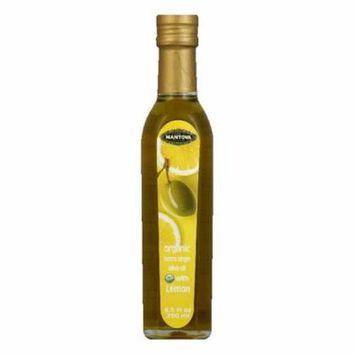 Fratelli Mantova Organic Lemon Extra Virgin Olive Oil, 8.5 FO (Pack of 6)