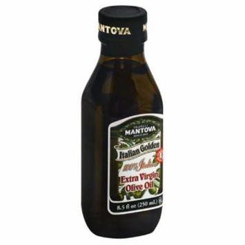 Mantova Italian Golden Extra Virgin Olive Oil, 8.5 Fo (Pack of 12)