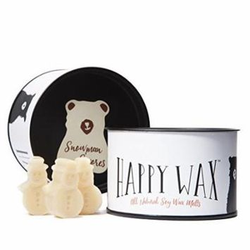 Happy Wax Snowman S'mores Scented Wax Melt Candle