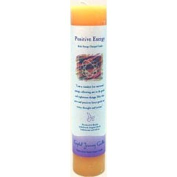 Crystal Journey Herbal Magic Reiki Charged Candle~ Positive Energy [Positive Energy]