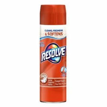 Resolve 22 OZ High Traffic Foam Carpet Cleaner Aerosol 2PK