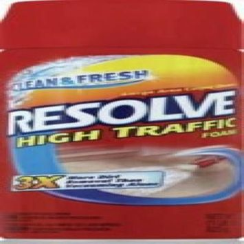 Reckitt Resolve High Traffic Carpet Cleaner Foam