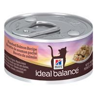 Hill's Ideal Balance Adult Poached Salmon and Rice Recipe Canned