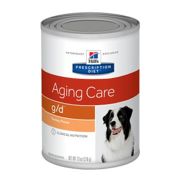 Hill's Prescription Diet g/d Canine Aging Care Turkey Flavor Canned