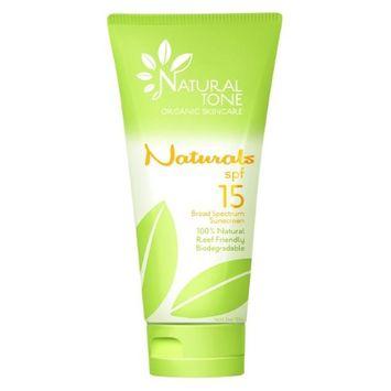 Naturals NAT15 SPF15 Broad Spectrum Sunscreen