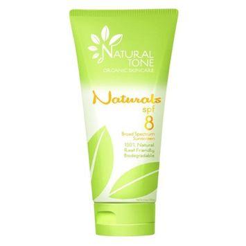 Naturals NAT08 SPF8 Broad Spectrum Sunscreen