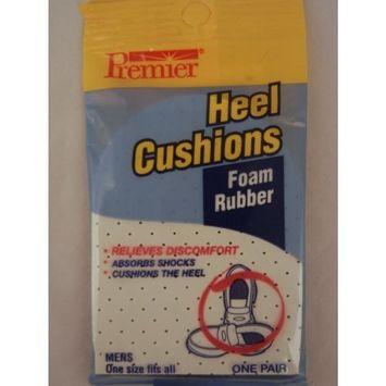 Heel Cushions Foam Rubber - Relieves Discomfort for Men, 1 Pair