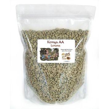 Kenya Lenana AA Green Unroasted Coffee Beans