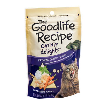 The Goodlife Recipe Catnip Delights Treats for Cats
